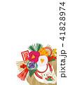 年賀状 亥 ベクターのイラスト 41828974