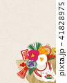 年賀状 亥 ベクターのイラスト 41828975