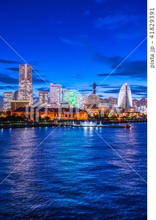 《神奈川県》横浜みなとみらい・夜景 41829391