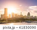 横浜 みなとみらい 街並みの写真 41830090