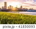 横浜 みなとみらい 街並みの写真 41830093
