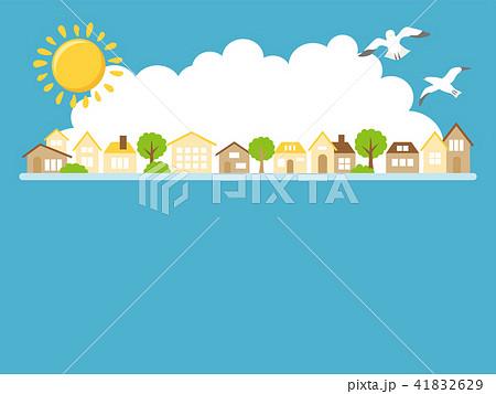 夏の街並み 41832629