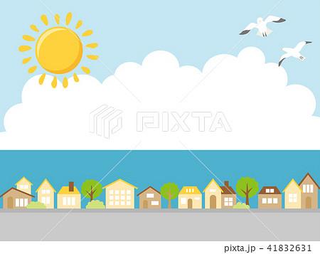夏の街並み 41832631