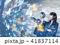 ビジネス ネットワーク ソーシャルネットワークの写真 41837114