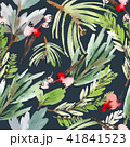 Seamless watercolor Christmas pattern 41841523
