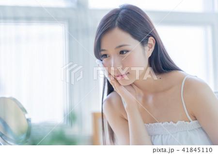 若い女性、ポートレート、ビューティーイメージ 41845110
