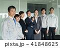 ビジネスマン オフィス ビジネスウーマンの写真 41848625