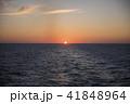 オホーツク海 日の出 朝焼けの写真 41848964