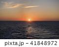 オホーツク海 日の出 朝日の写真 41848972