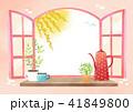 イラスト 背景 お花のイラスト 41849800