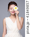 お花 フラワー 咲く花の写真 41849857