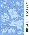 挿絵 バックグラウンド 青のイラスト 41849980