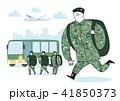 illustration of a cartoon military life 010 41850373