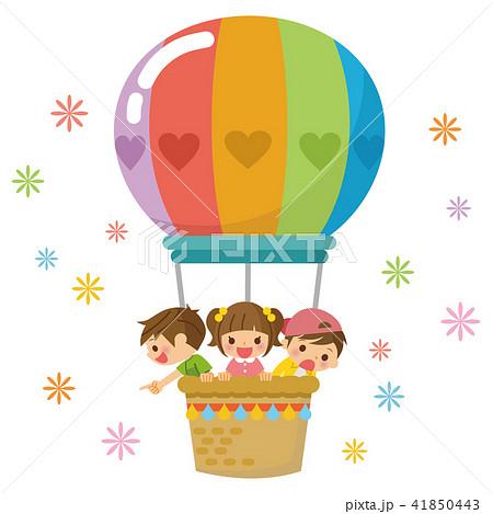 気球に乗った子供たち 41850443