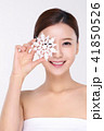 RF photos - beauty portrait of a young woman isolated on white background, concept for health and skin care. 091 41850526