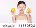 RF photos - beauty portrait of a young woman isolated on white background, concept for health and skin care. 087 41850528