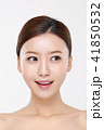 RF photos - beauty portrait of a young woman isolated on white background, concept for health and skin care. 020 41850532