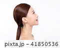 RF photos - beauty portrait of a young woman isolated on white background, concept for health and skin care. 013 41850536
