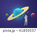 For an education or imagination of planet space concept 3D graphic design. 013 41850537
