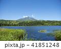利尻礼文サロベツ国立公園 オタトマリ沼 利尻山の写真 41851248