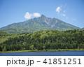利尻礼文サロベツ国立公園 オタトマリ沼 利尻山の写真 41851251