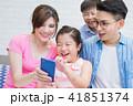 携帯 携帯電話 ファミリーの写真 41851374