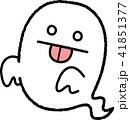お化け 幽霊 ハロウィンのイラスト 41851377