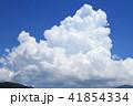 雲 入道雲 積乱雲の写真 41854334