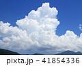 夏の大空 巨大な入道雲 41854336