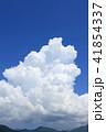 夏の大空 巨大な入道雲 41854337
