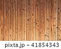 木目の浮き出た古い外壁の板 41854343