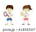 テニス 子供 ラケットのイラスト 41856507