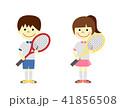 テニス 子供 ラケットのイラスト 41856508