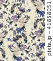 Seamless summer pattern with watercolor flowers 41858051
