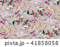 Seamless watercolor Christmas pattern 41858058