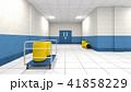 研究所の廊下 41858229