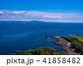 (神奈川県)観音崎灯台から眺める房総半島 41858482