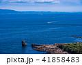 (神奈川県)観音崎灯台から眺める房総半島 41858483
