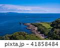 (神奈川県)観音崎灯台から眺める房総半島 41858484