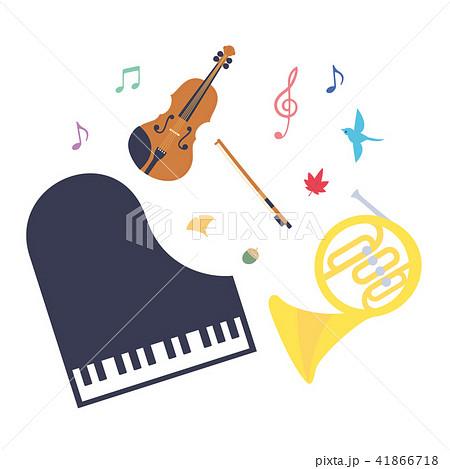 素材-楽器(3種類) 41866718
