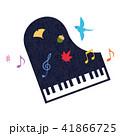 素材-楽器(ピアノ)テクスチャ 41866725