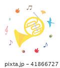 素材-楽器(ホルン) 41866727