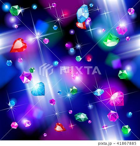 Falling diamonds background 41867885