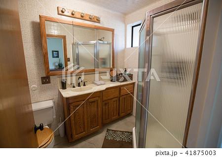 アメリカのバスルーム 41875003