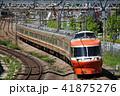 小田急 ロマンスカー 晴れの写真 41875276