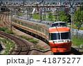 小田急 ロマンスカー 電車の写真 41875277