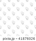 Baby pacifier pattern vector seamless 41876026