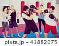 人々 人物 拳闘の写真 41882075