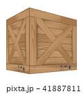 BOX ボックス 入れ物のイラスト 41887811
