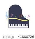 素材-楽器(ピアノ)2 41888726